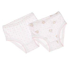 🐰🆕 babycottons ♡2-Pack Charlie Rabbit Panties ♡